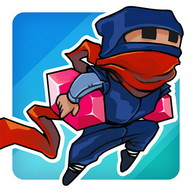 Rogue Ninja - Avoid the samurais and get as far as you can
