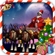 Santa Claus Sleigh Parking 3D