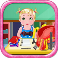 School Baby Care Games