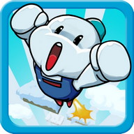 Snow Bros Jump - Constant jumping with the Snow Bros characters