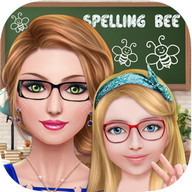 School Girls - Spelling Bee