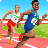 Sports Hero - The Olympic Games with a retro feel