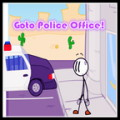 Stickman Go to Police Office