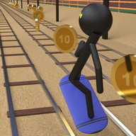 Stickman Subway Runners 3D