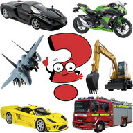 Super Vehicles Match Memory Game
