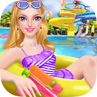 Water Park Salon - Summer Girl
