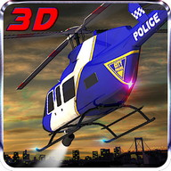 911 Polizei Helicopter Sim 3D