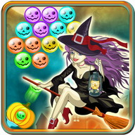 Addictive Witch Bubble Shooter