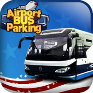 3D airport bus parking