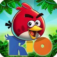Angry Birds Rio - Throw birds into the air... in Rio de Janeiro