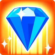 Bejeweled Blitz - Get rid of all of the diamonds in as little time as possible