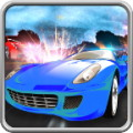 Car Battle Multiplayer 3D - Getting to the finish line isn't enough, destroy your rivals