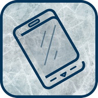 Clean It - Make it look like your screen is frozen as you scrape the ice off