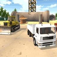 simulador camión construcción