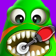 Crazy Alien Dentist kids Game