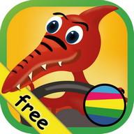Kids Car Ride Dinosaurs Puzzle