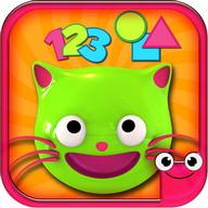 色、ABCを勉強するための無料教育ゲーム-Preschool EduKitty
