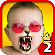 Face Fun Photo Collage Maker 2 - This photo editing app will crack you up with its funny stickers