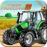 Pertanian game parkir traktor