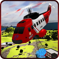 Fire Fighter Rescue Helicopter
