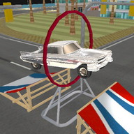 Free Stunt Retro Car 2