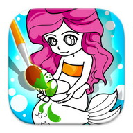 Coloring Mermaids Games