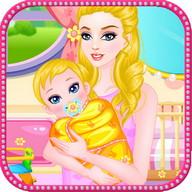 摂食赤ちゃんの女の子のゲーム
