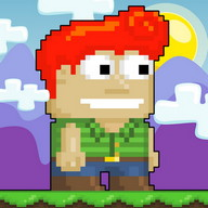Growtopia - Get things and beat the game...but watch out for robbers!