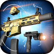 Gun Builder - Construct your own customized weapons and shoot away