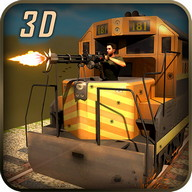 Gunship Savaş Bullet Train 3D