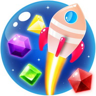 Jewel Galaxy - Blast through the galaxy breaking colored gems
