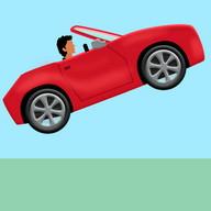 jumping car game