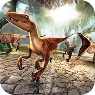 ジュラ紀 ディノ . 恐竜 シミュレータ ゲーム 子供のため