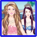 Mermaid Princess Hair Styles