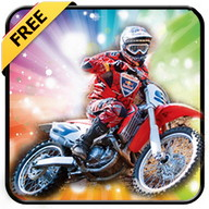 Motocross racing game