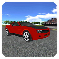 Muscle Car Racing 3D simulador