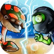 Turtle Defense Ninja Invasion