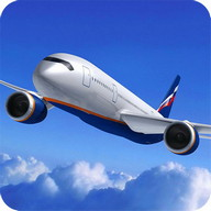 Plane Simulator - Fly high with this airplane simulation game