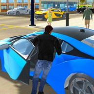 Real City Car Driver 3D - Drive through the city with this car simulator
