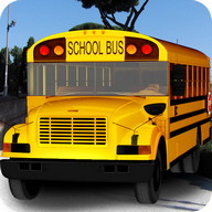 School Bus Pick Up Driving 3D