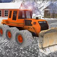 3D Snow Truck Driver