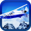 Snowy Flight Simulator