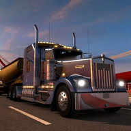 T Truck Simulator - A fascinating truck simulator that feels like the real thing