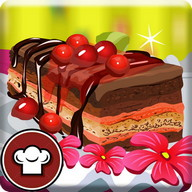 Tasty CherryCake Cooking Games