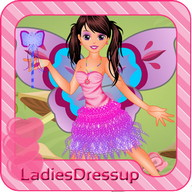 Tooth Fairy Dressup  Girl Game