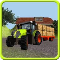 Traktör Simülatörü 3D: Saman