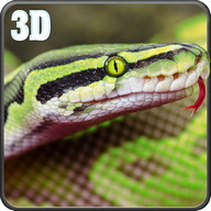 Wild Anaconda Snake Attack Sim
