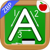 123s ABCs Kids Handwriting ZBP - Improve the penmanship of your kids with this app