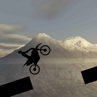 2D Stunt Bike Racing Game