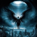 3D Dark Angel Live Wallpaper